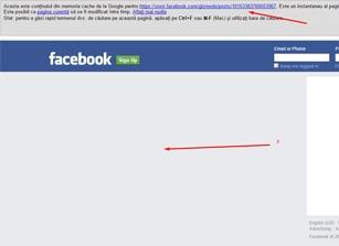 facebook noindex google